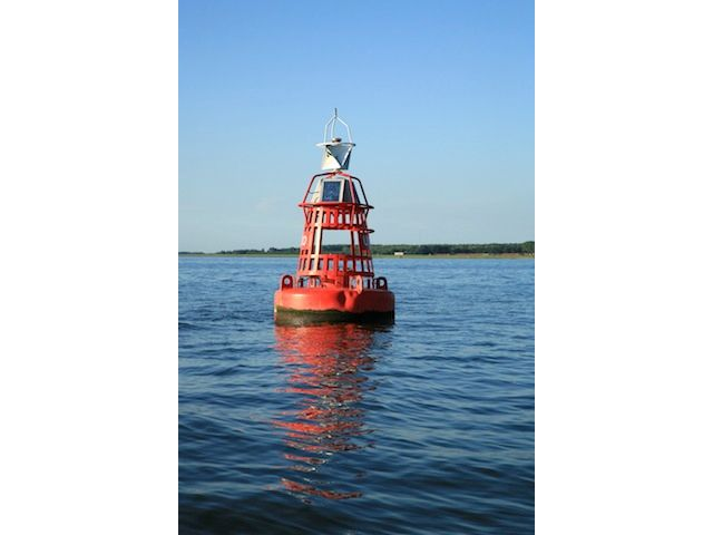 buoy with solar and wireless