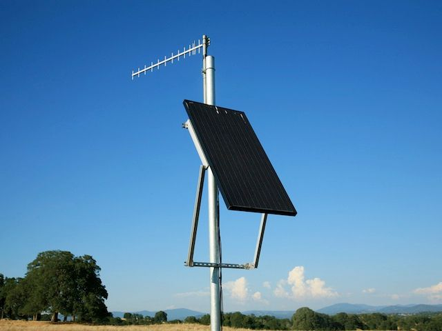 solar powered wireless